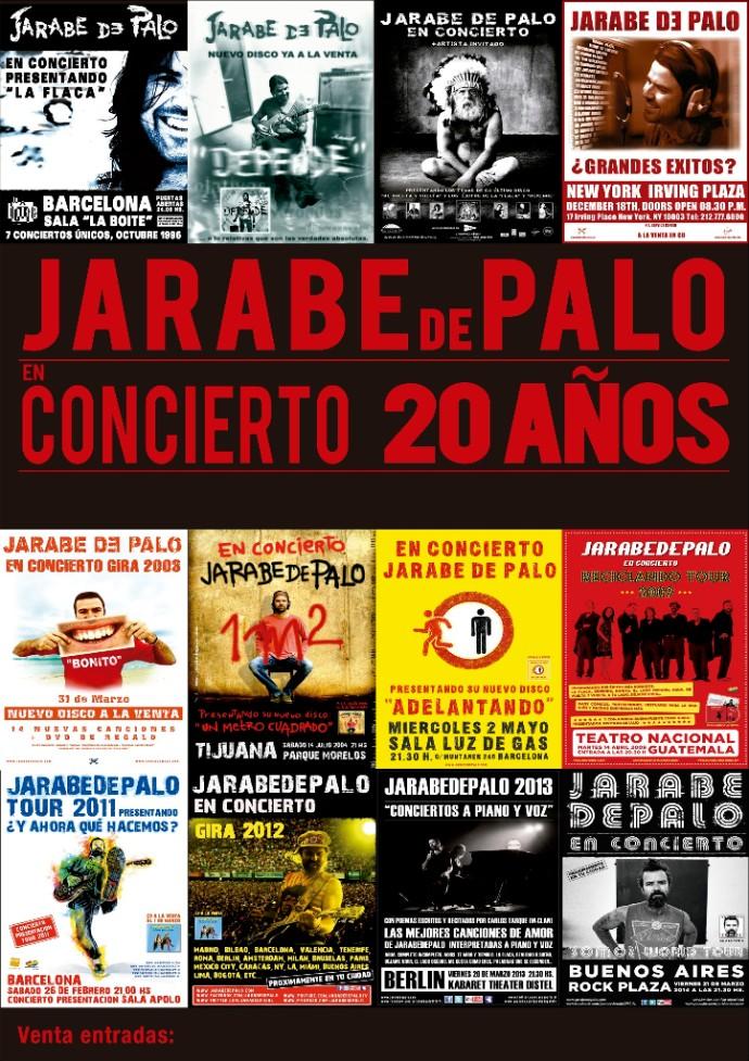 "Jarabe de Palo ""20Anos"" Tour"